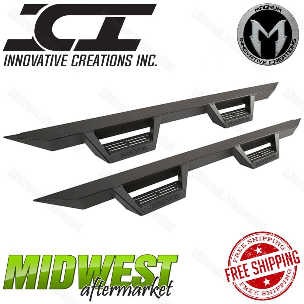 ICI Magnum RT Step Bars Fits 2015-2018 Chevy Colorado