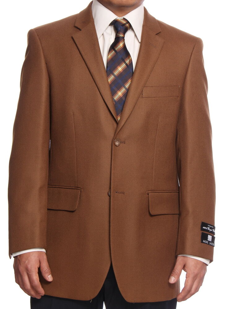 Men's Sports Coats and Blazers to Enhance Your Wardrobe When formal settings require you to dress your best, men's sports coats and blazerscomplete your outfit. A variety of styles refines your look, allowing you to express your personality through different materials and cuts.