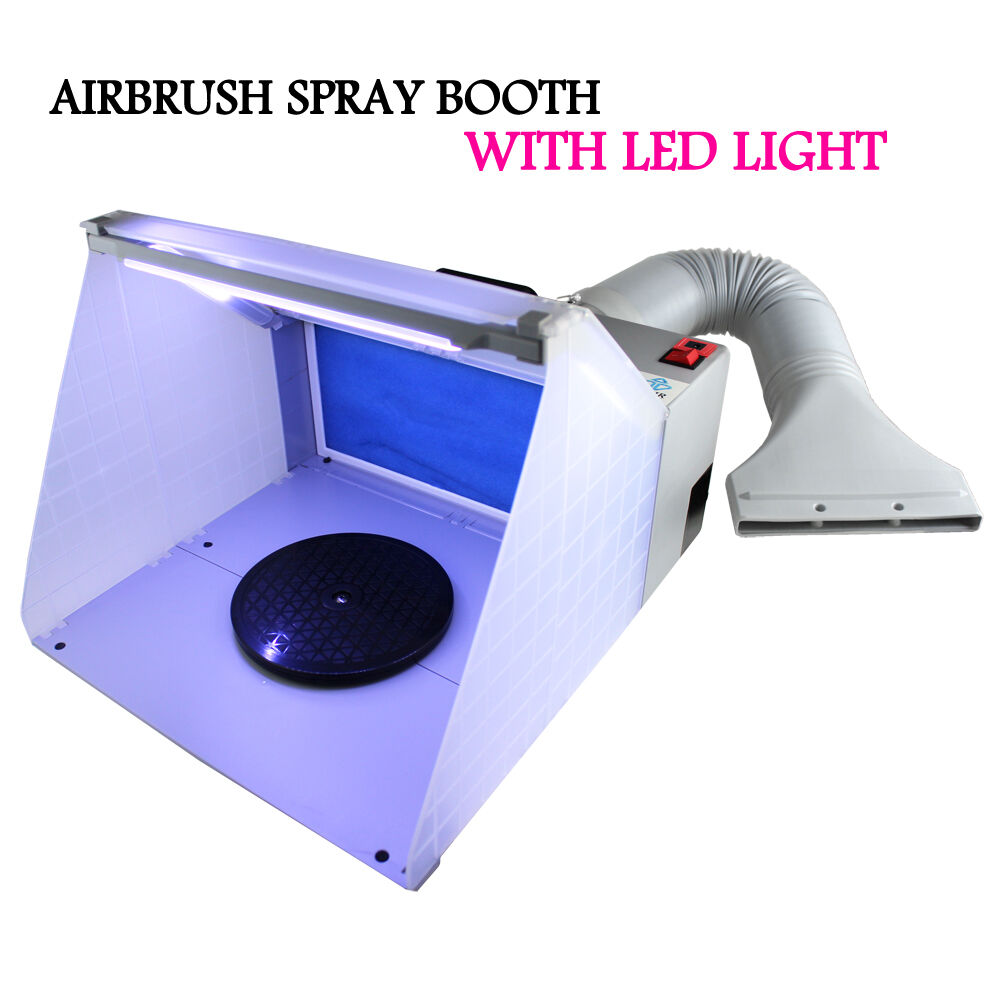 Hobby Airbrush Spray Booth Exhaust Filter Extractor Set