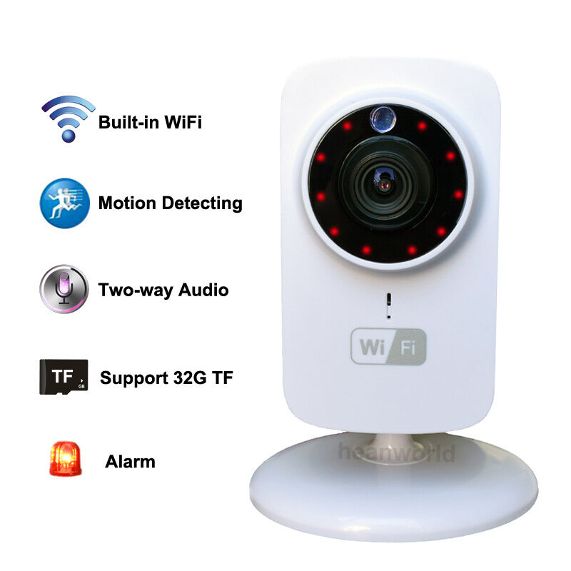wireless ip wifi sd cctv security camera baby monitor for iphone android phone ebay. Black Bedroom Furniture Sets. Home Design Ideas