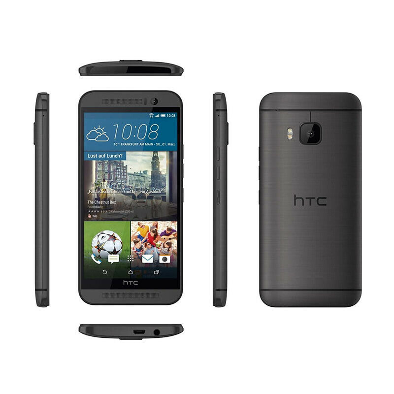 137ed8decbf Details about Unlocked HTC One M9 20.0 MP 32GB - 4G LTE GSM Free Android  Smartphone BLACK