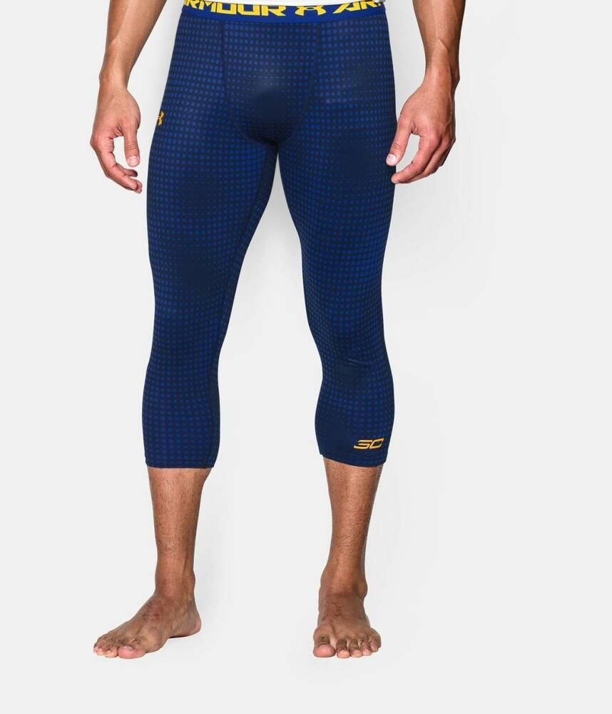 Under Armour Menu0026#39;s UA Steph Curry SC30 3/4 ColdGear Leggings - NWT | eBay