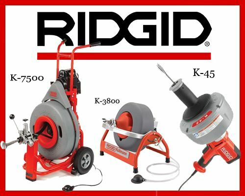 ridgid k 7500 drum machine