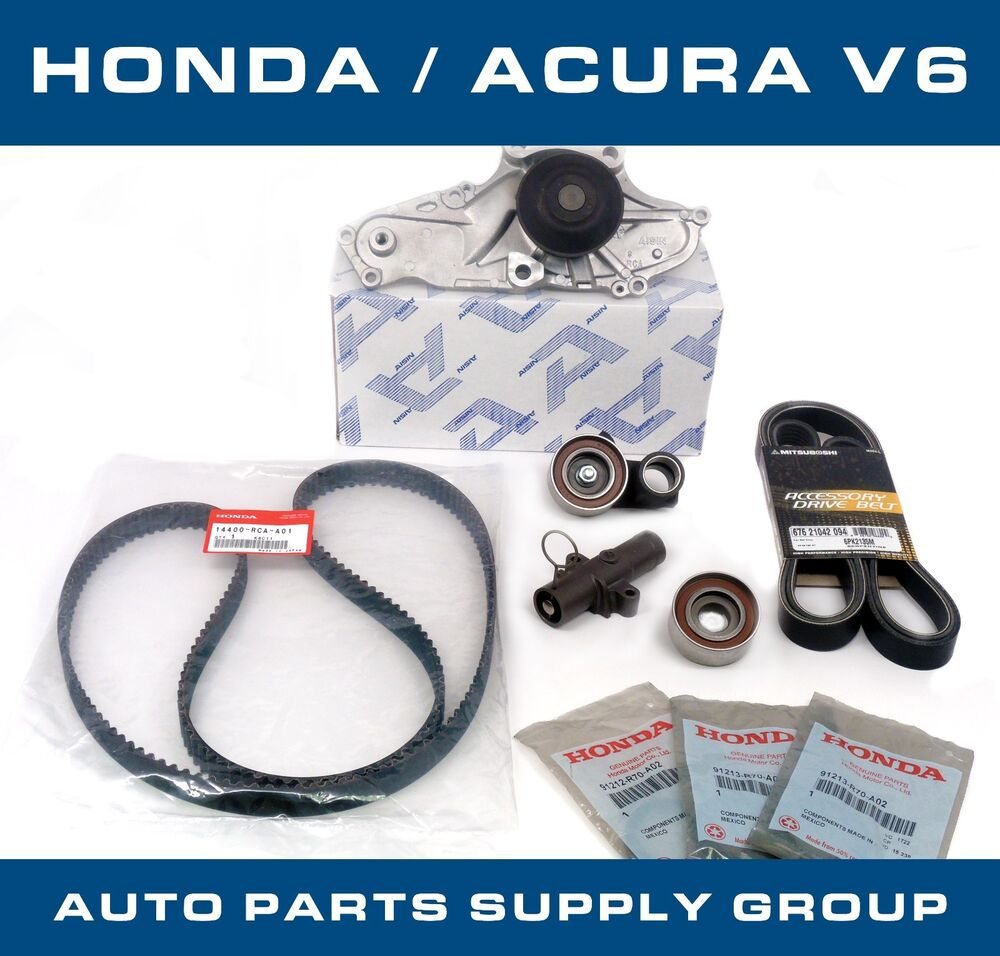Honda/Acura V6 OEM Timing Belt & Water Pump Kit Factory