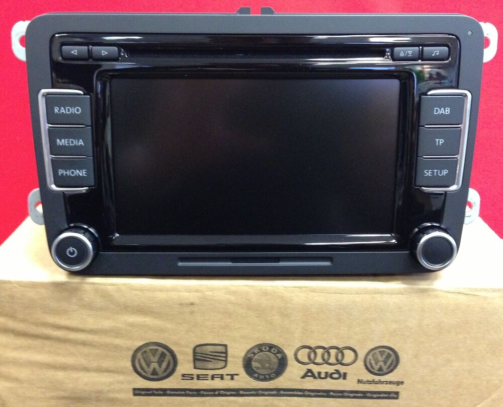 dab volkswagen vw rcd 510 dab digital radio cd mp3. Black Bedroom Furniture Sets. Home Design Ideas