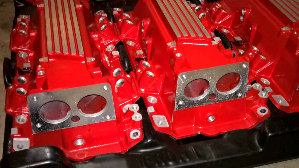 S L on Chevy Lt1 Intake Manifold