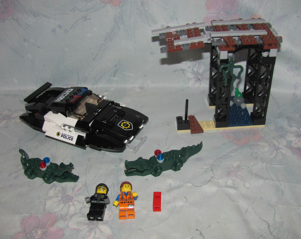 Lego Movie 70802 Bad Cop S Pursuit 98 Complete 2