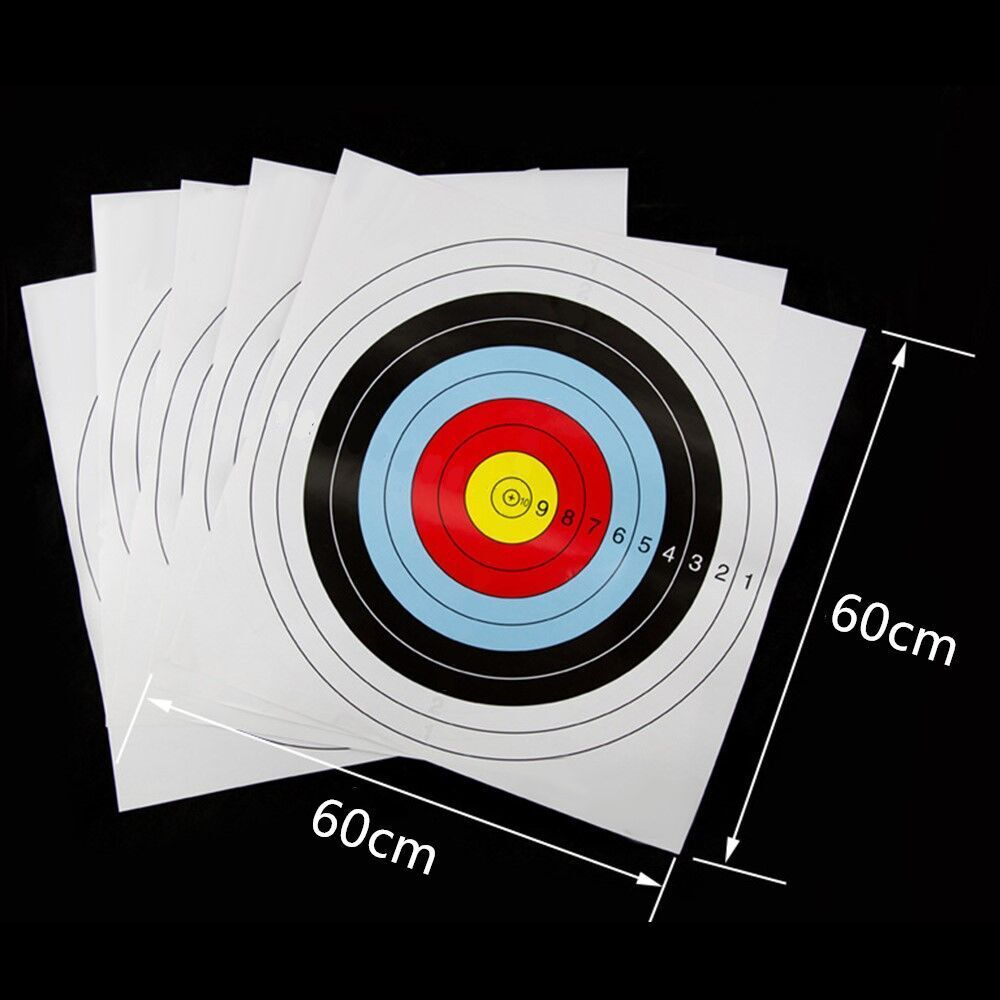It is an image of Bright Target Practice Sheets