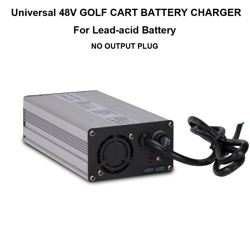 universal 48v 5a golf cart battery charger no plug for. Black Bedroom Furniture Sets. Home Design Ideas