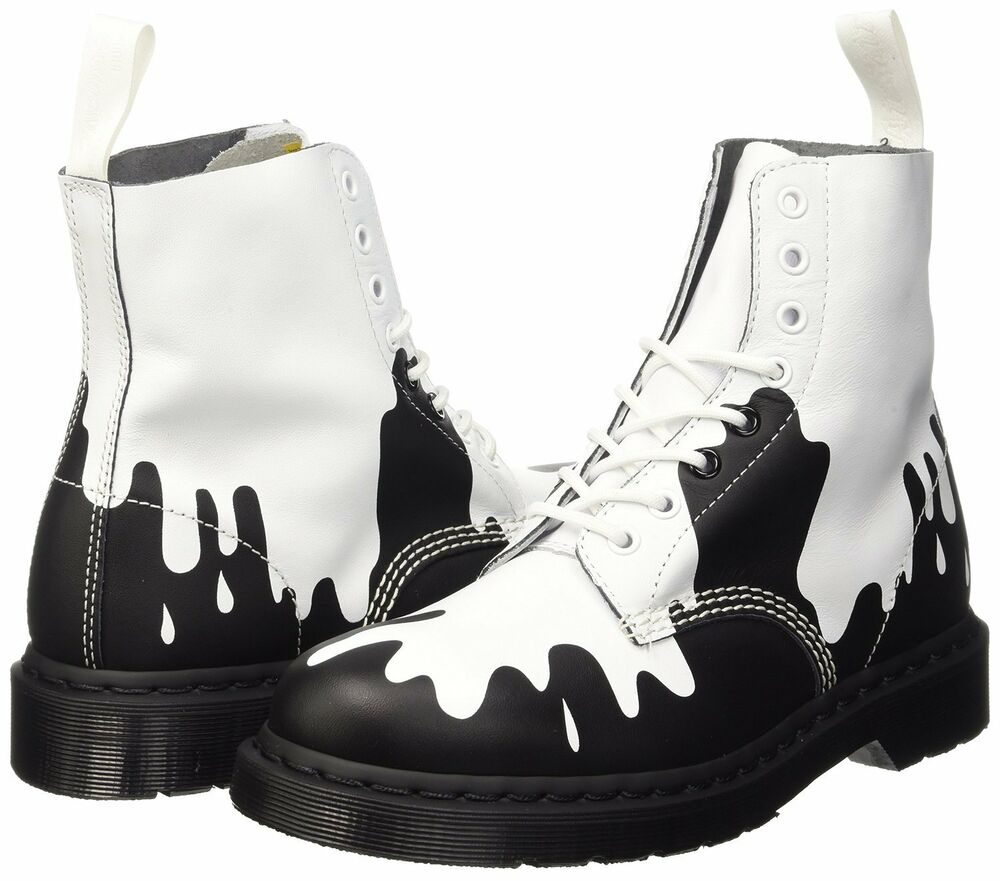 Painting Black Shoes White Leather Paint
