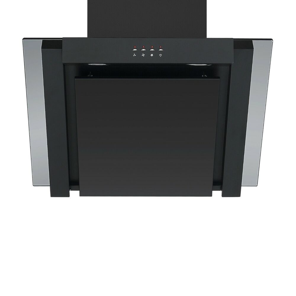 Cookology Ang605bk Black 60cm Angled Extractor Fan