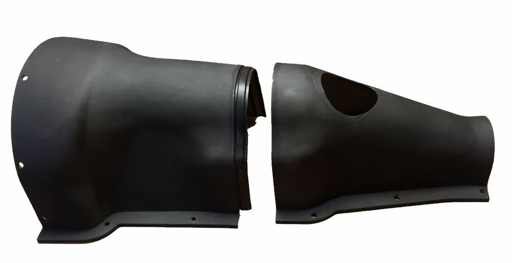 new poly transmission gearbox cover for tunnel triumph tr4 tr6 2 piece p1211 ebay. Black Bedroom Furniture Sets. Home Design Ideas