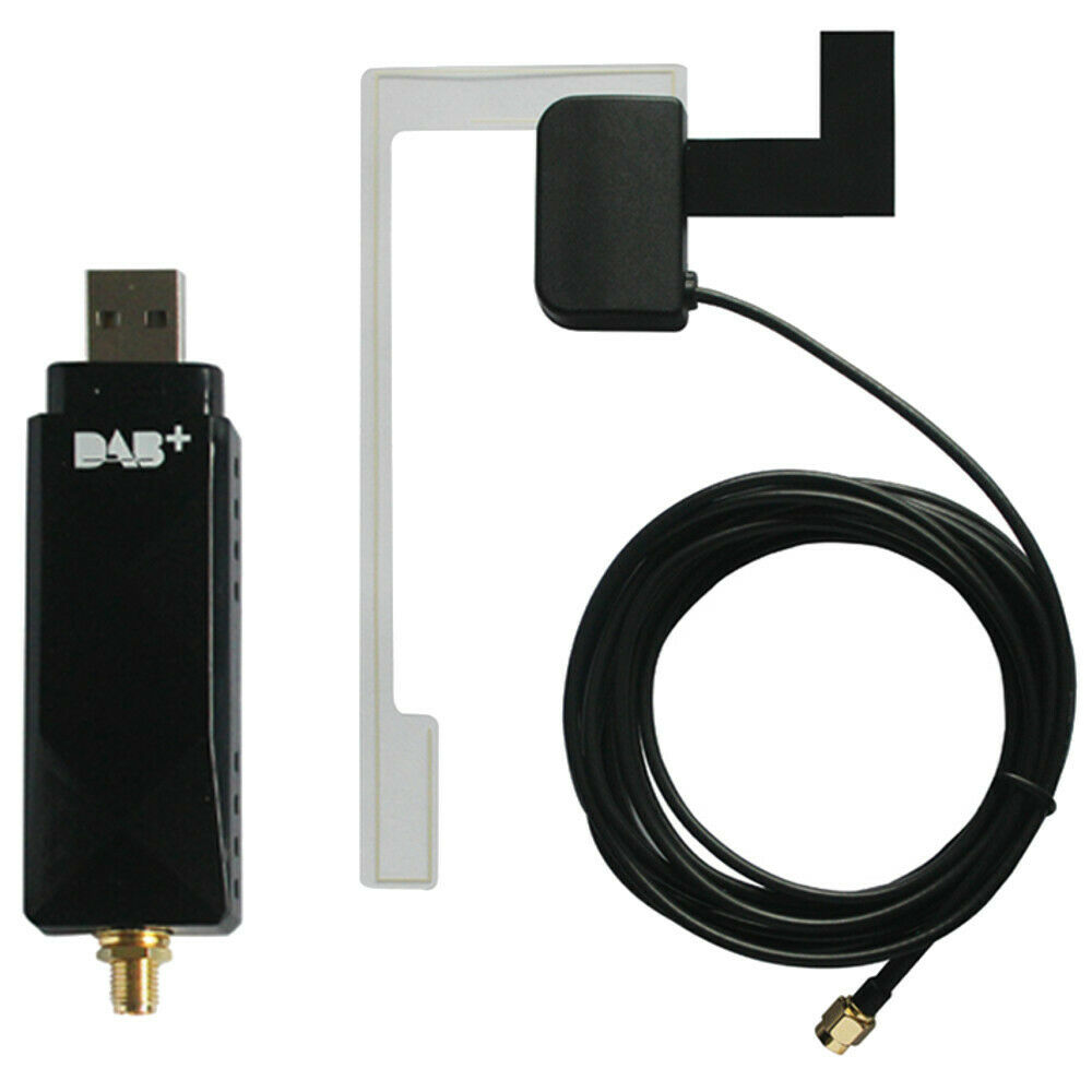 universal usb dab module dongle aerial glass mount antenna. Black Bedroom Furniture Sets. Home Design Ideas