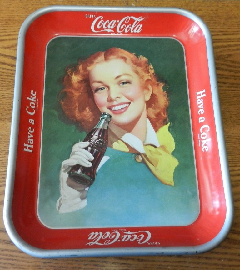 History of vintage tip trays