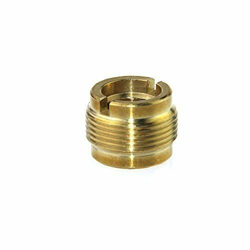 Quot female to male threaded screw adapter for mic