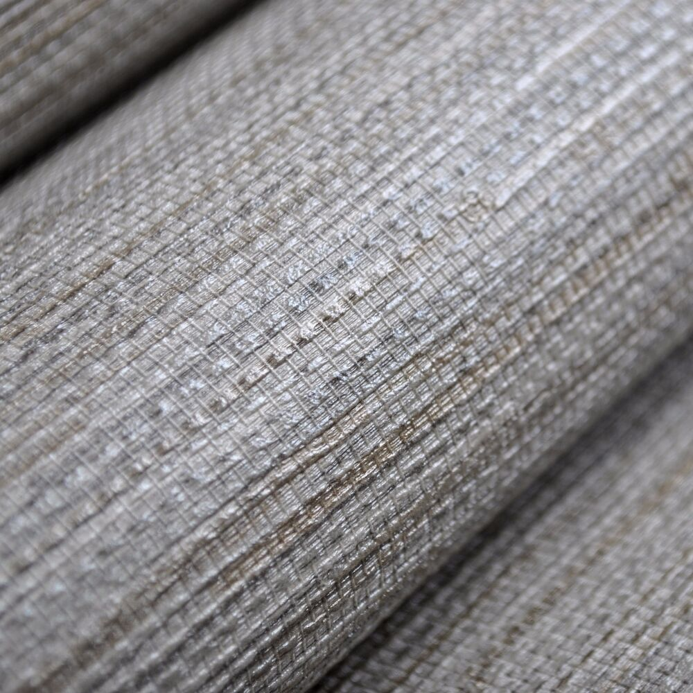 White Grasscloth Wallpaper: Natural Vinyl Textured Faux Grasscloth Wallpaper Roll,Grey