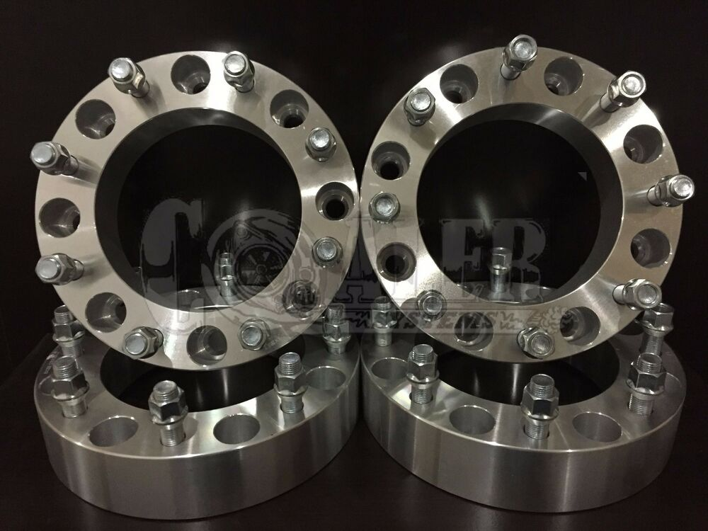 Dual Wheel Spacers : Quot thick lug wheel spacers dodge ram