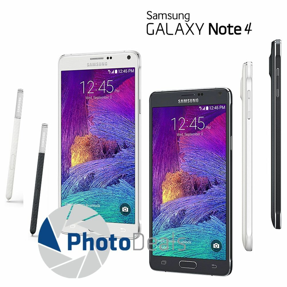 samsung galaxy note 4 n910 32gb 5 7 4g lte unlocked mobile phone smartphone ebay. Black Bedroom Furniture Sets. Home Design Ideas