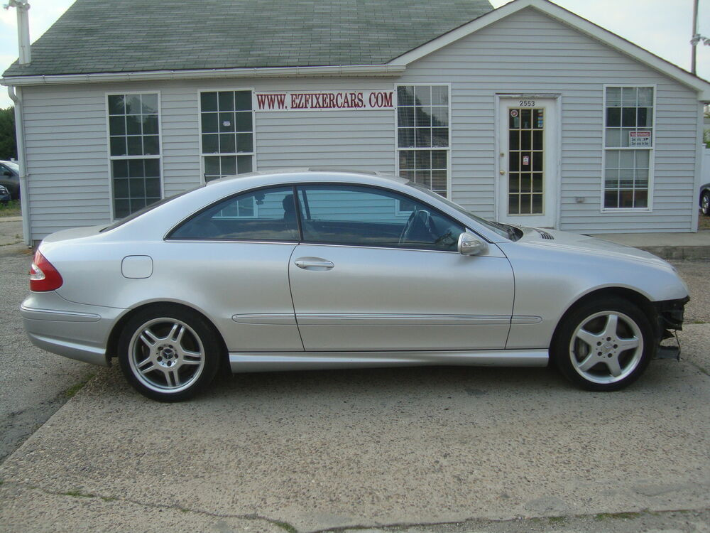 2003 mercedes benz clk class clk500 salvage rebuildable for Salvage mercedes benz for sale ebay