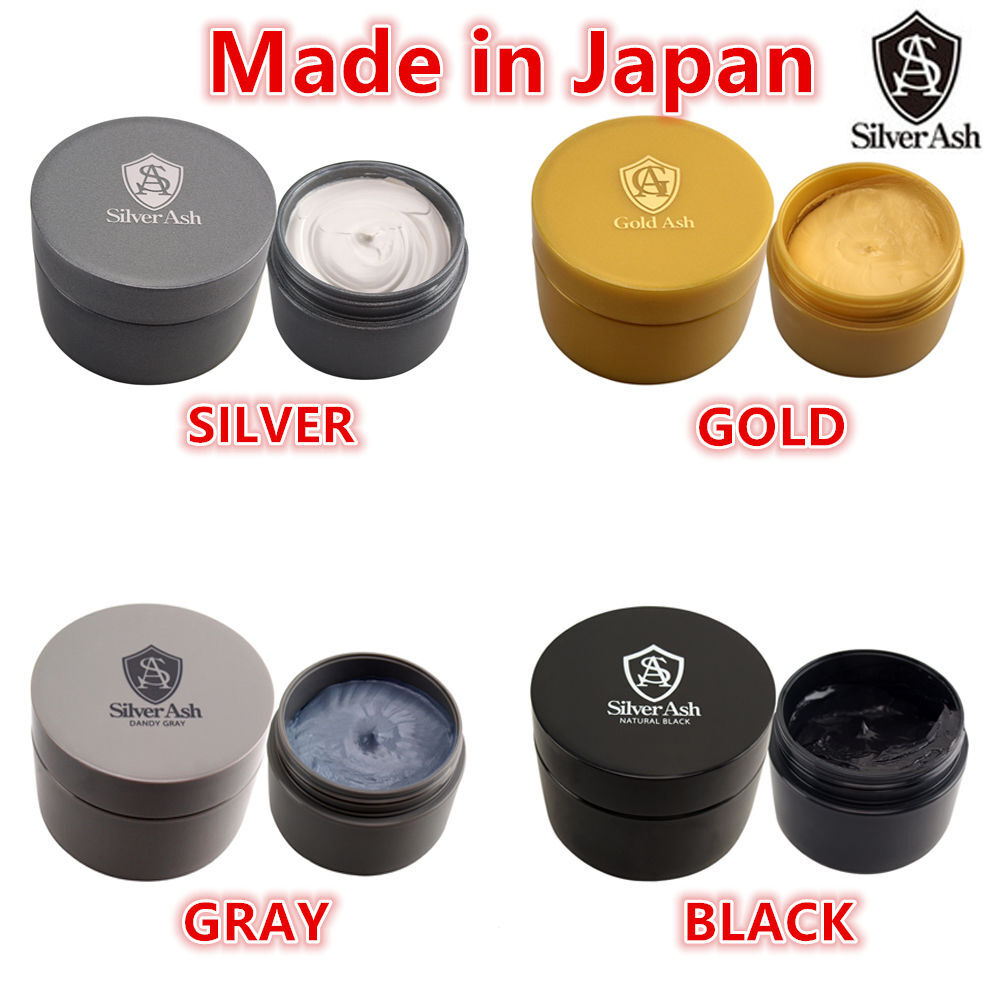 Silver Ash☀japan Color Hair Wax Silver Gold Black Gray Air