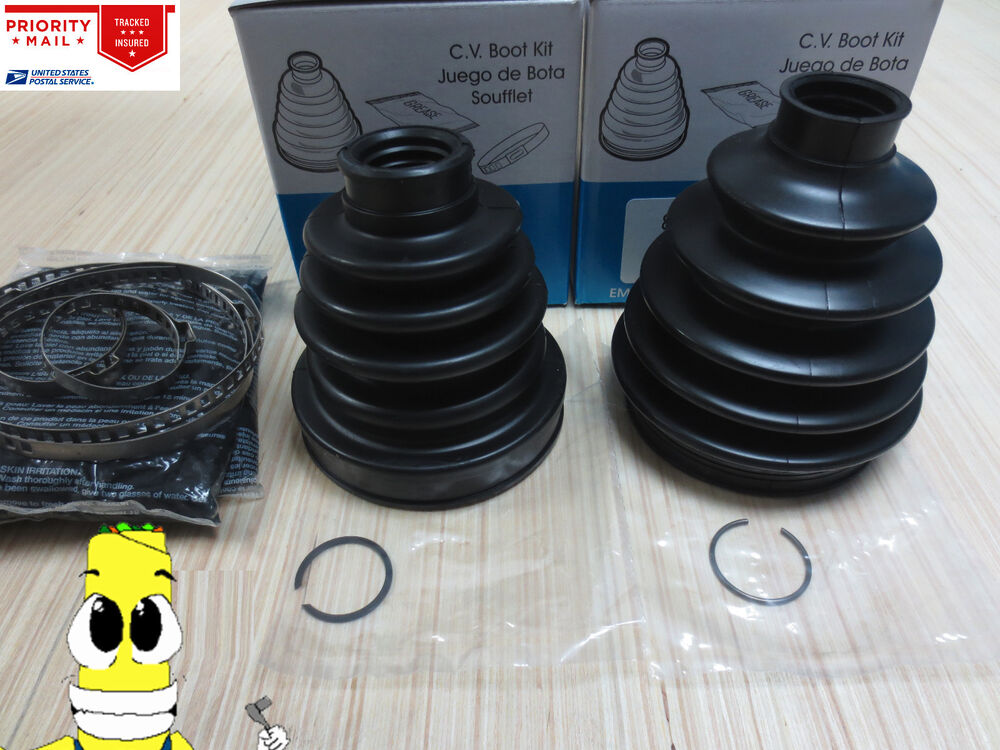 Front Inner & Outer CV Axle Boot Kit For Nissan Altima ...