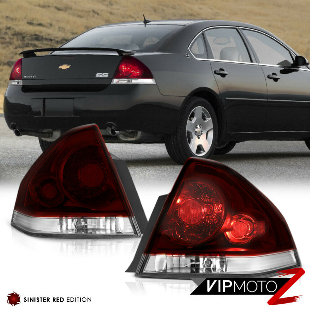 "2013 Chevy Impala Ltz >> 2006-2013 Chevrolet Impala SS LS LT LTZ ""DARK SMOKE"" Rear Brake Tail Light LH+RH 7426547233276 ..."