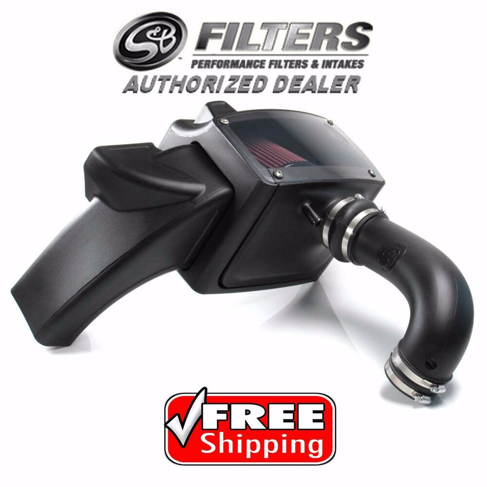 S&B Filters Cold Air Intake Filter for 14-16 Ram 1500 2500 ...