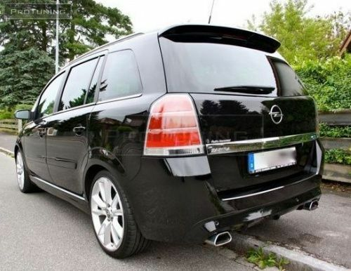 opel vauxhall zafira b 05 11 roof spoiler opc gsi tailgate. Black Bedroom Furniture Sets. Home Design Ideas