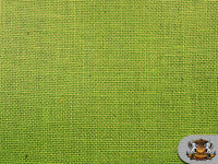 """Burlap Jute LIME Fabric / 58"""" / Sold by the yard"""