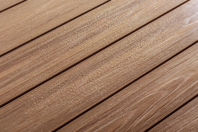 Wood Plastic Composite Decking Board Length In Forma