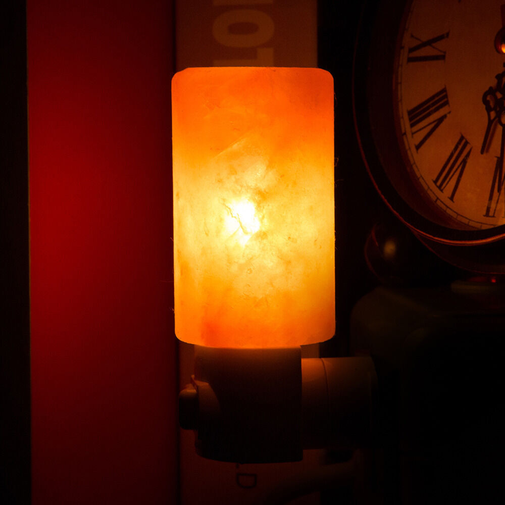 Salt Lamps Night Lights : Himalayan Salt Night Light Natural Crystal Lamp Air Purifier Home Wall Deco BT eBay