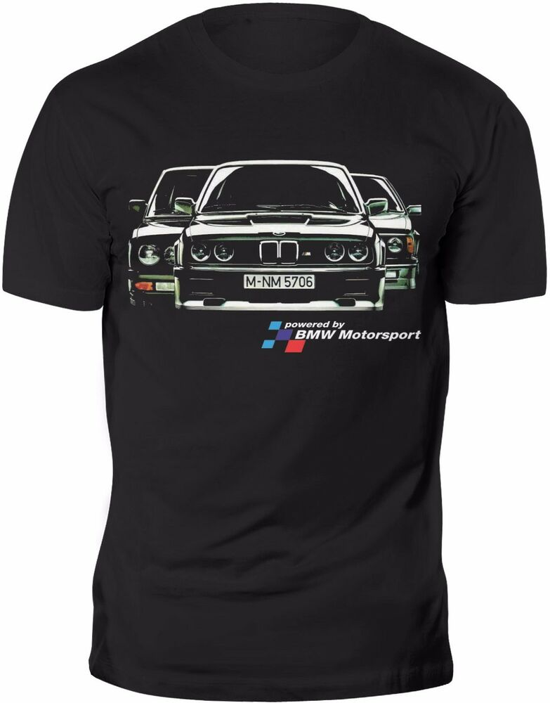new t shirt retro bmw m3 e30 m technik m power classic tee. Black Bedroom Furniture Sets. Home Design Ideas