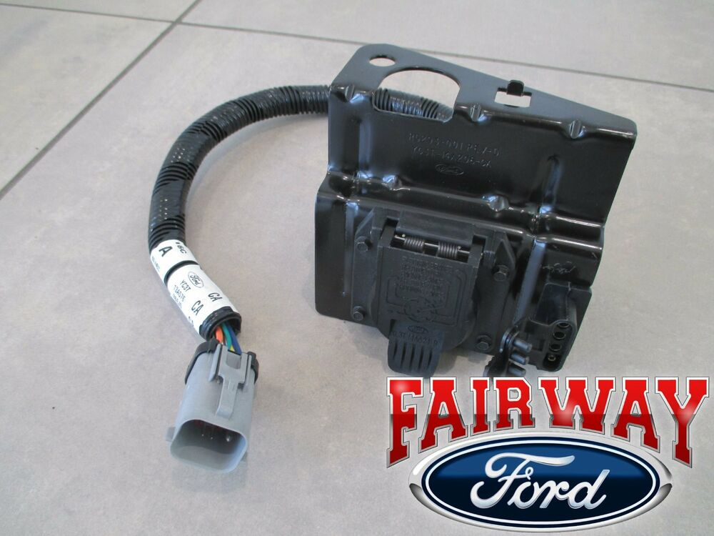99 Thru 01 F250 F350 Super Duty Ford 4  U0026 7 Pin Trailer Tow Wiring Harness Plug
