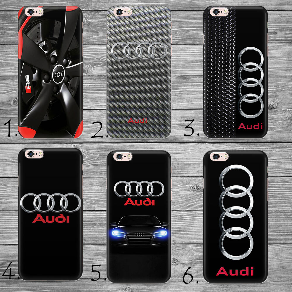 car iphone holder audi logo rs s style sport car thin cover iphone 4 5c 10338