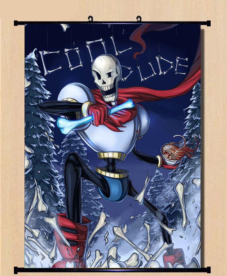 Undertale Sans Papyrus Anime Game Poster Wall Home Decor
