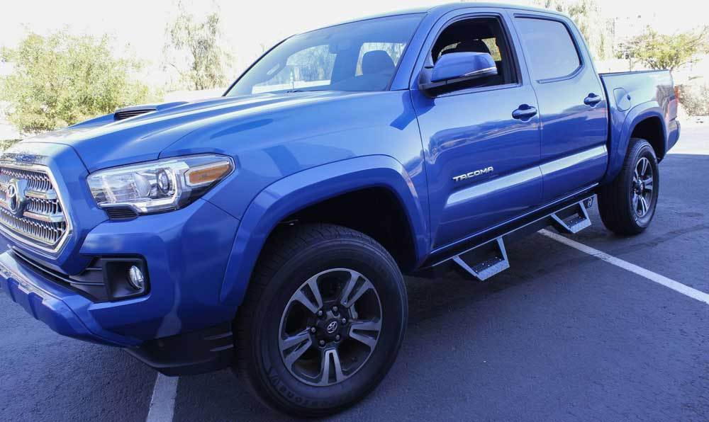 Side Steps For Toyota Tacoma 2017 >> 2005-2017 Toyota Tacoma Double Cab ICI Magnum RT Step Bars Running Boards 845426027596 | eBay