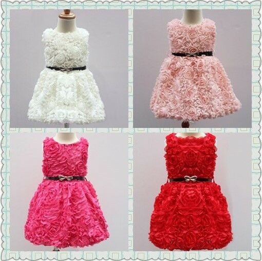 H&m Red Sparkly Party Dress Kids' Clothes, Shoes & Accs. Girls Age 4-6 Years