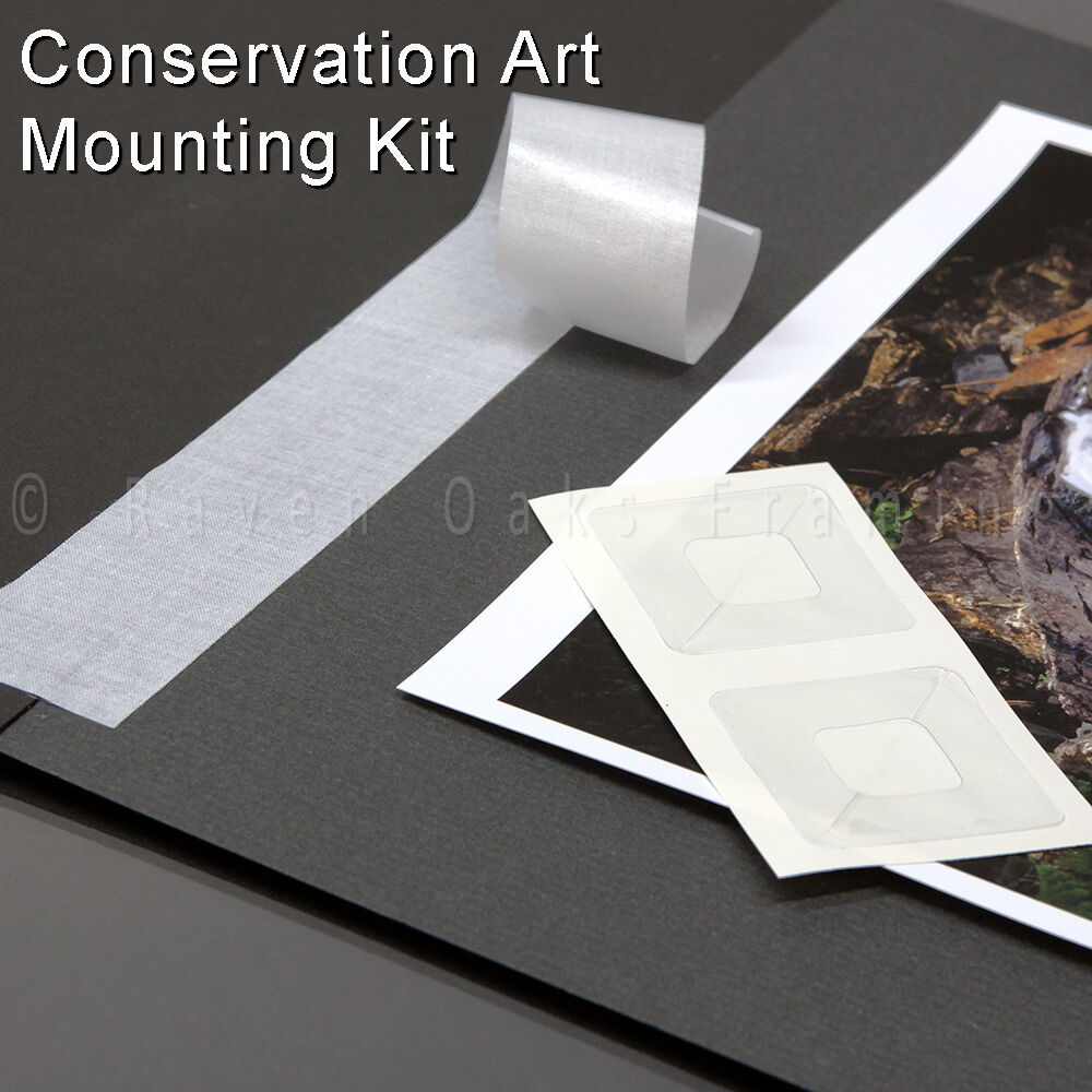 Art Mounting Kit Lineco Linen Tape And Photo Corners For