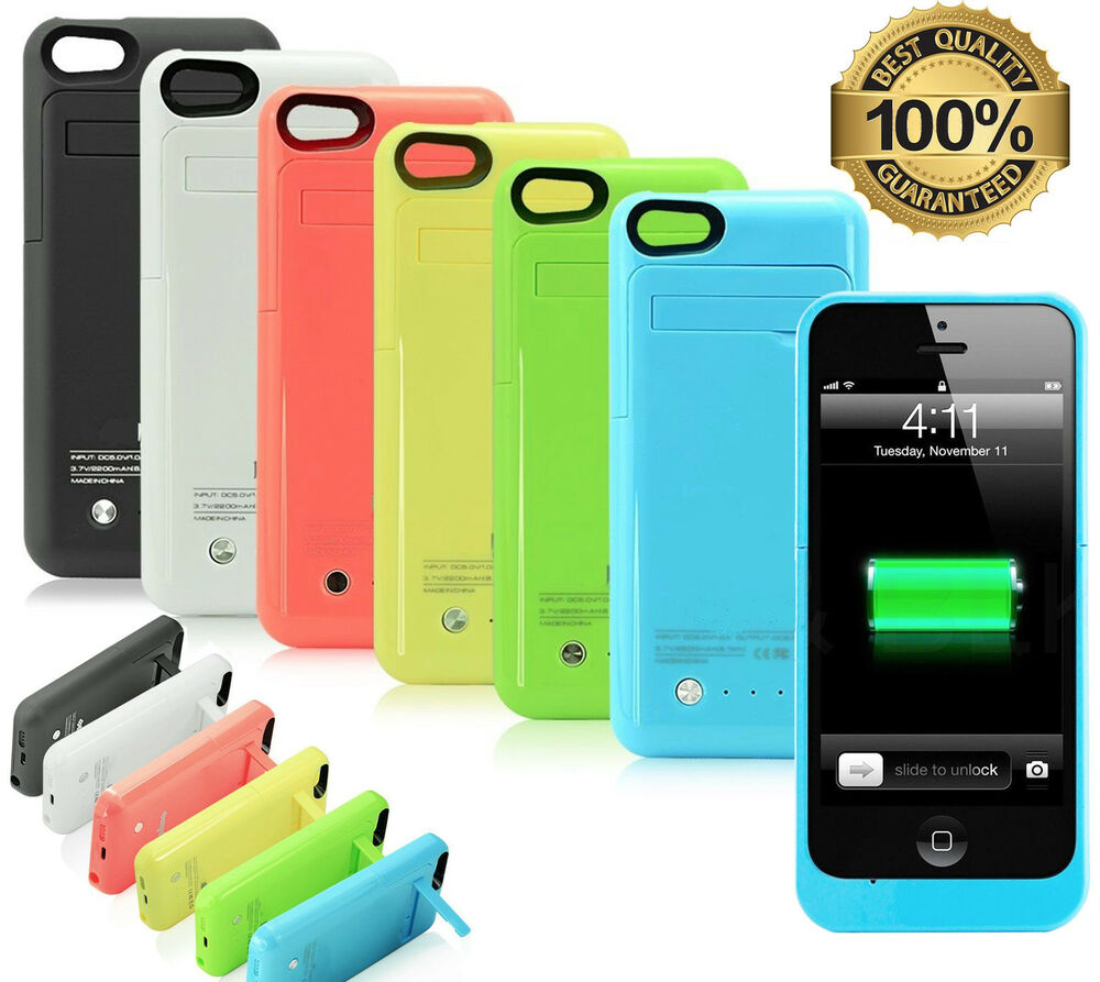 iphone 5 rechargeable case 2200mah rechargeable fast charging lithium battery 14561