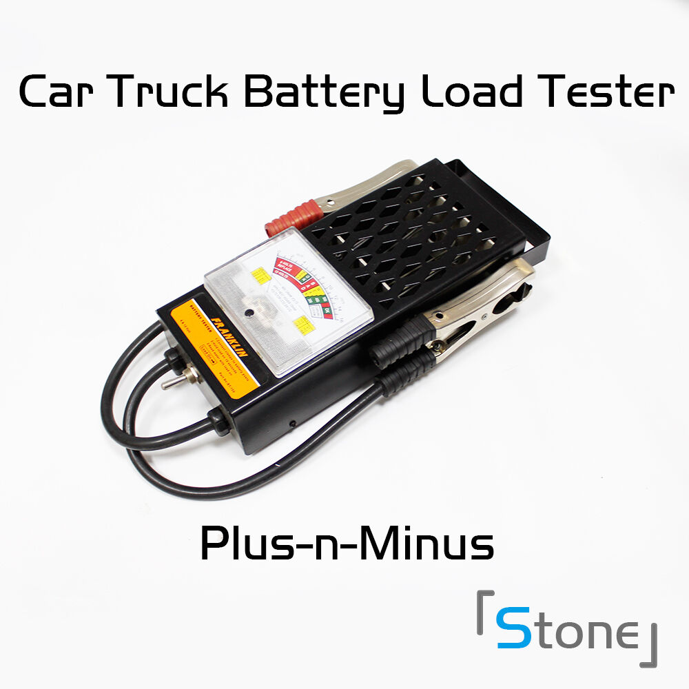 Car Battery System : Portable battery load tester a mechanics car auto