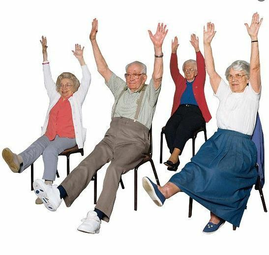 Armchair Fitness DVD Gentle Exercise Elderly Limited ...