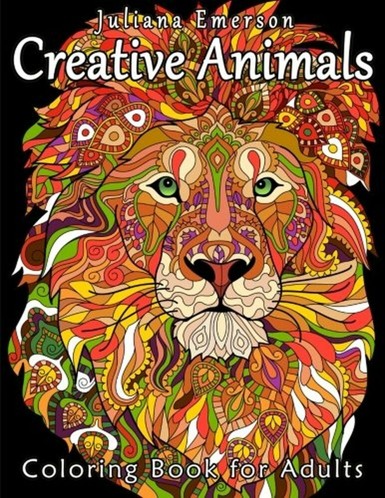 Creative Animals Coloring Book For Adults 1530314712