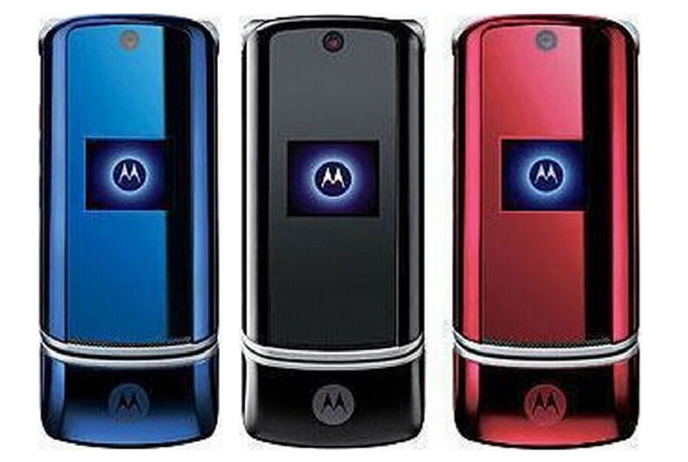 motorola krzr k1 original unlocked mobile phone bluetooth. Black Bedroom Furniture Sets. Home Design Ideas