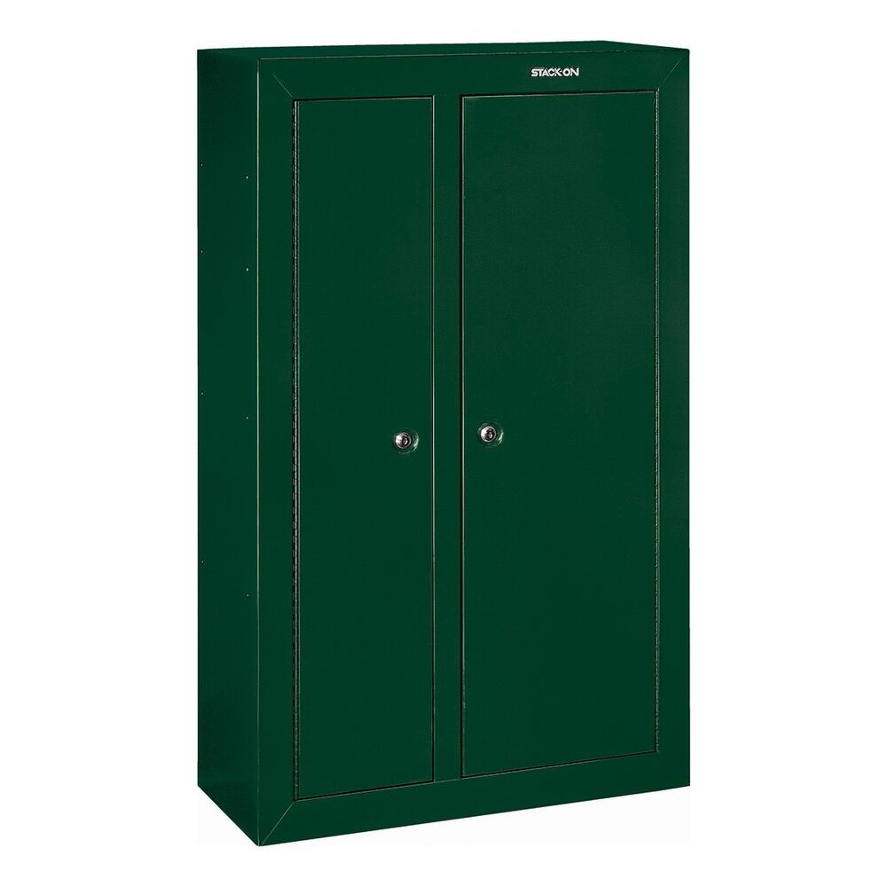 Stack on gcdg 924 double door steel security cabinet ebay for 10 gun double door steel security cabinet
