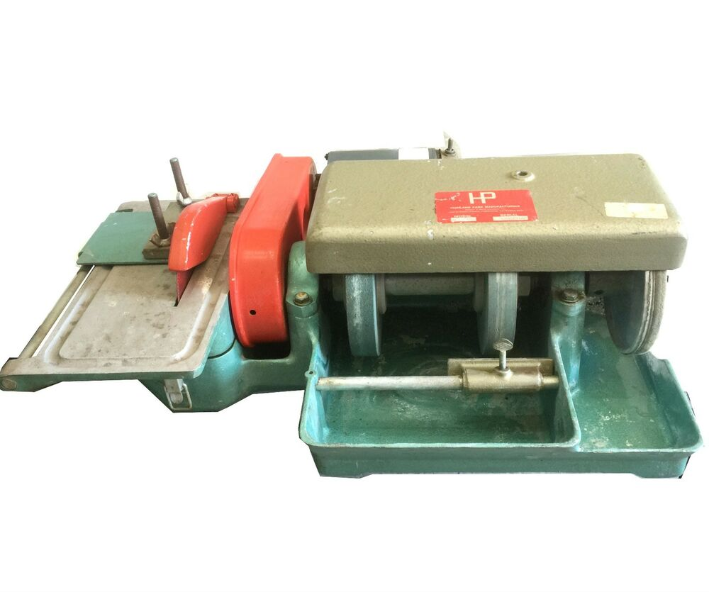 Used lapidary polishers