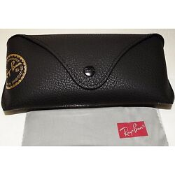 Kyпить Ray ban Brand new leather case only Black with cleaning cloth на еВаy.соm