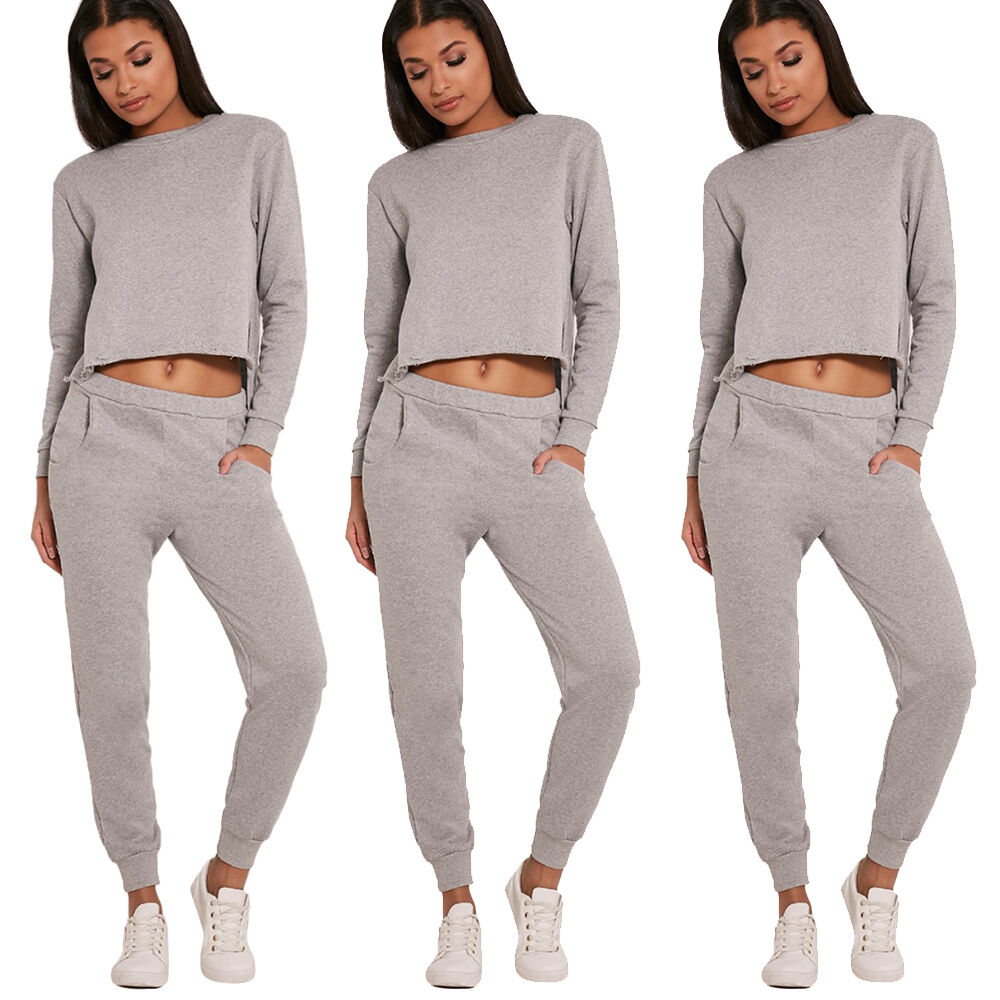 Womens Joggers Trousers Ladies Tracksuit Bottoms Jogging