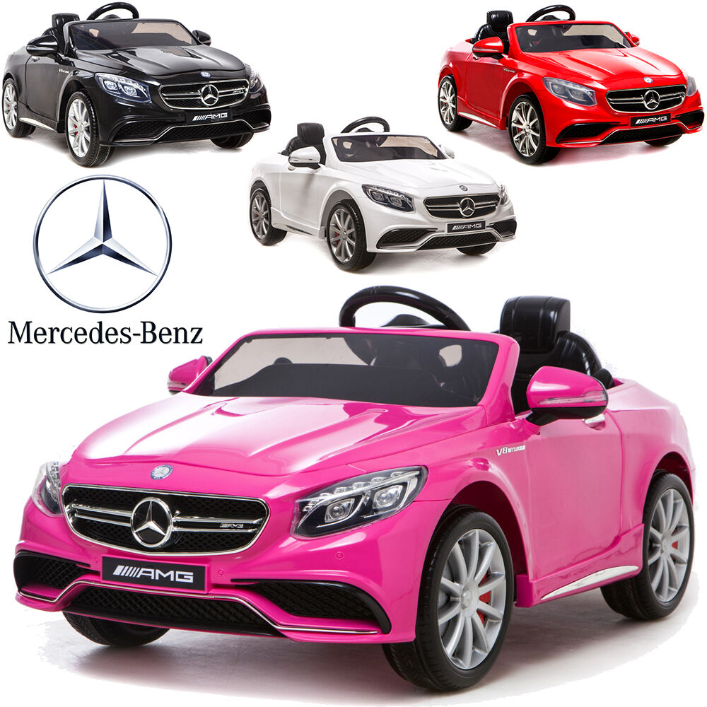 petite voiture lectrique pour enfant mercedes s63 version. Black Bedroom Furniture Sets. Home Design Ideas