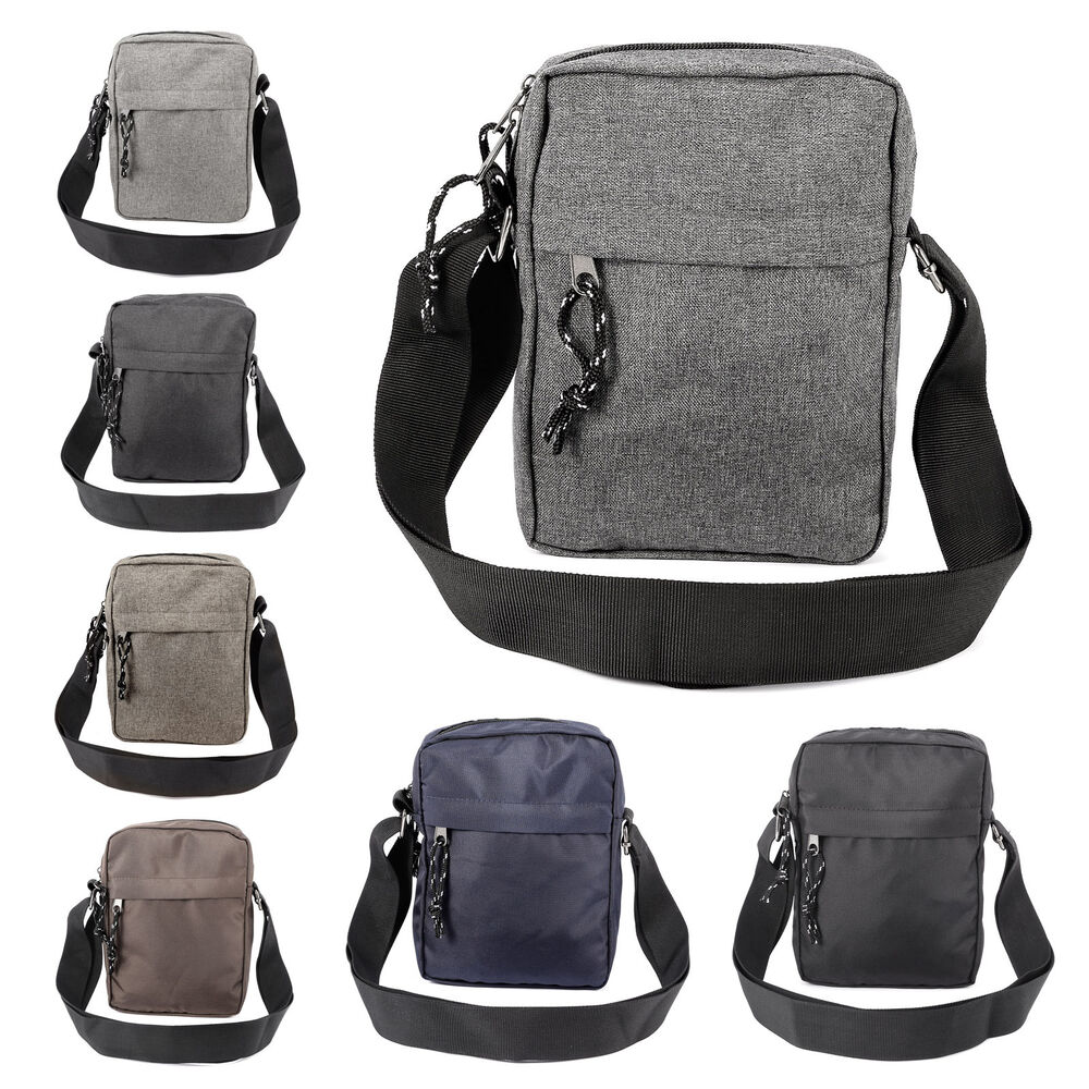 Mens Gents Waterproof Shoulder Bag Cross Body Messenger Travel Bag Satchel Ebay