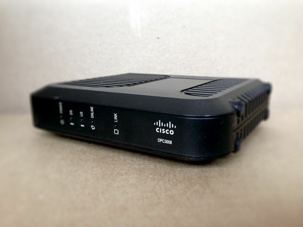 Cisco Dpc3008 Cable Modem Dpc 3008 Comcast Twc Rcn Docsis